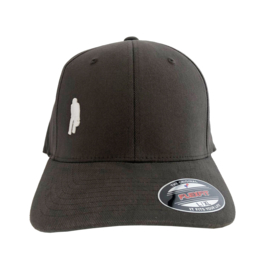 Ôot ketuur - curved cap - zwart