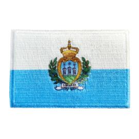 Embleem vlag San Marino