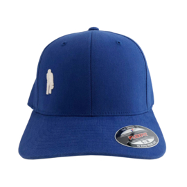 Ôot ketuur - curved cap - blauw