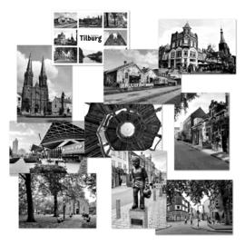 Ansichtkaarten foto's Tilburg - set van 10