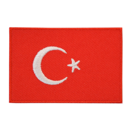 Embleem vlag Turkije
