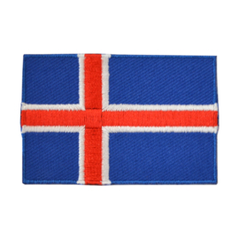 Embleem vlag IJsland