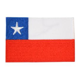 Embleem vlag Chili