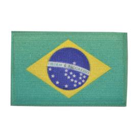 Embleem vlag Brazilië