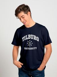 Tilburg University T-shirt navy (official)