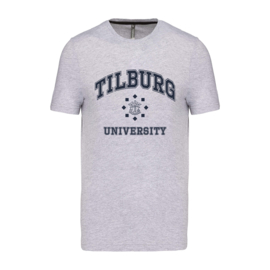 Tilburg University T-shirt grijs (official)