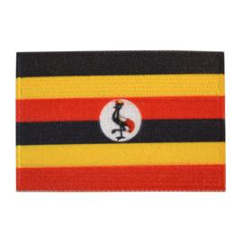 Embleem vlag Uganda