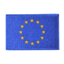 Embleem vlag Europese-vlag