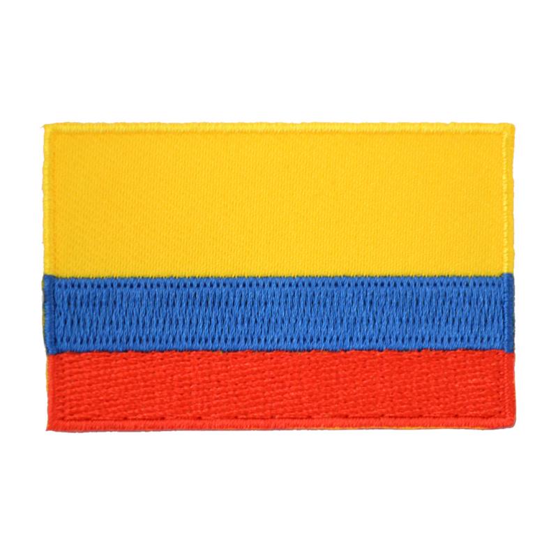 Embleem vlag Colombia