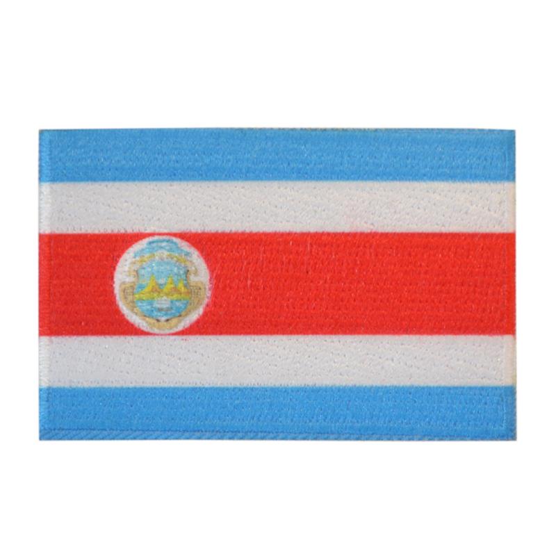 Embleem vlag Costa-Rica
