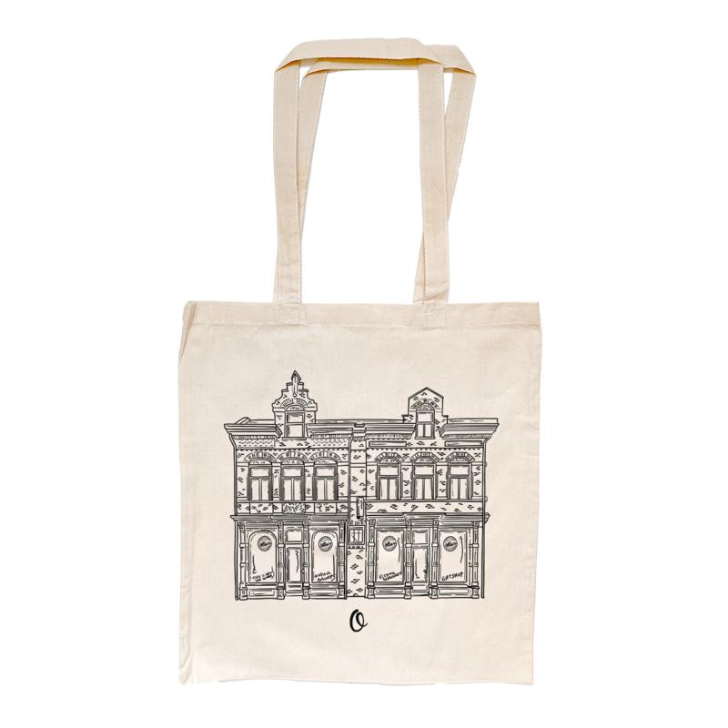 Ollie's & WeAr Tilburg linnen tasje (Limited Edition)