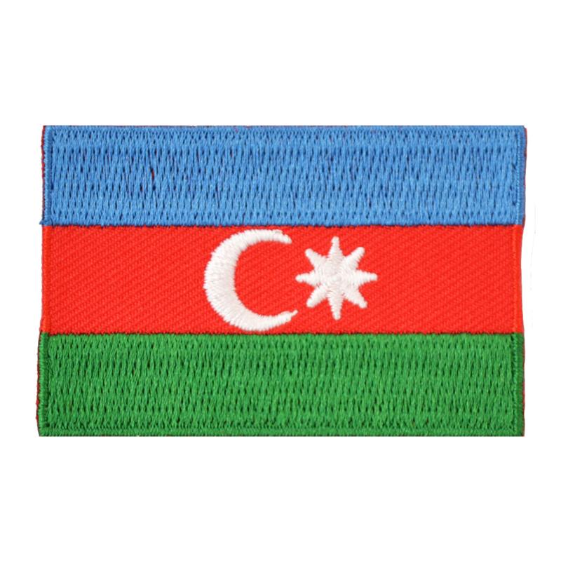 Embleem vlag Azerbeidzjan