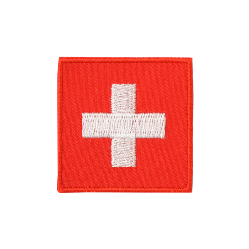 Embleem vlag Zwitserland