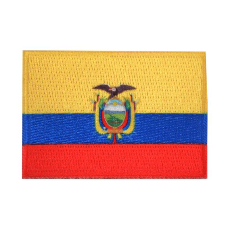 Embleem vlag Ecuador