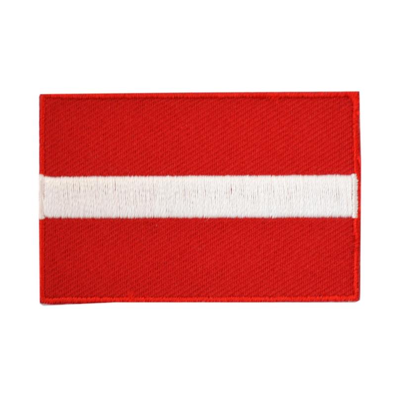 Embleem vlag Letland