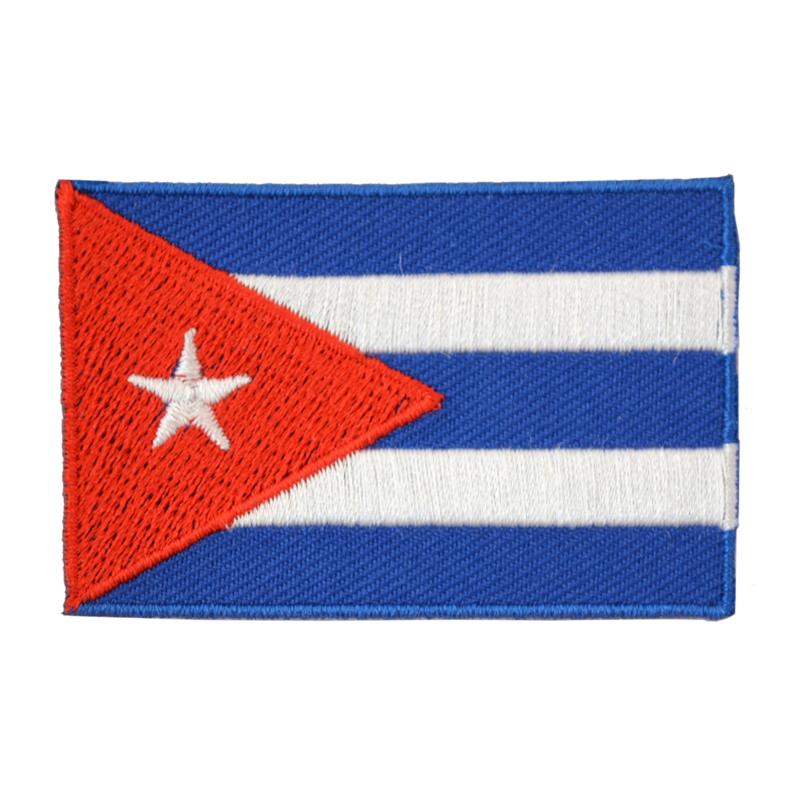 Embleem vlag Cuba