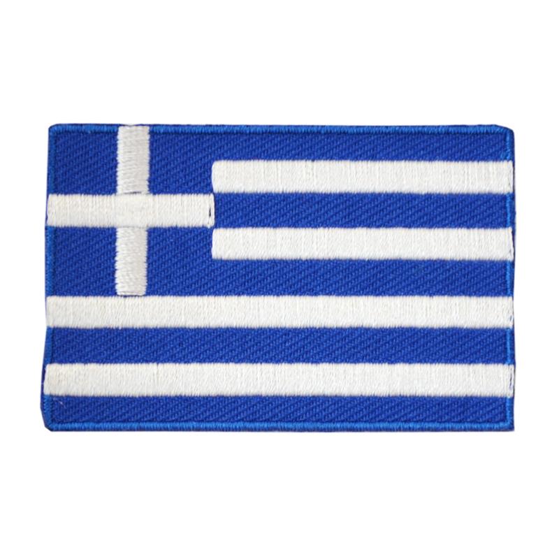 Embleem vlag Griekenland
