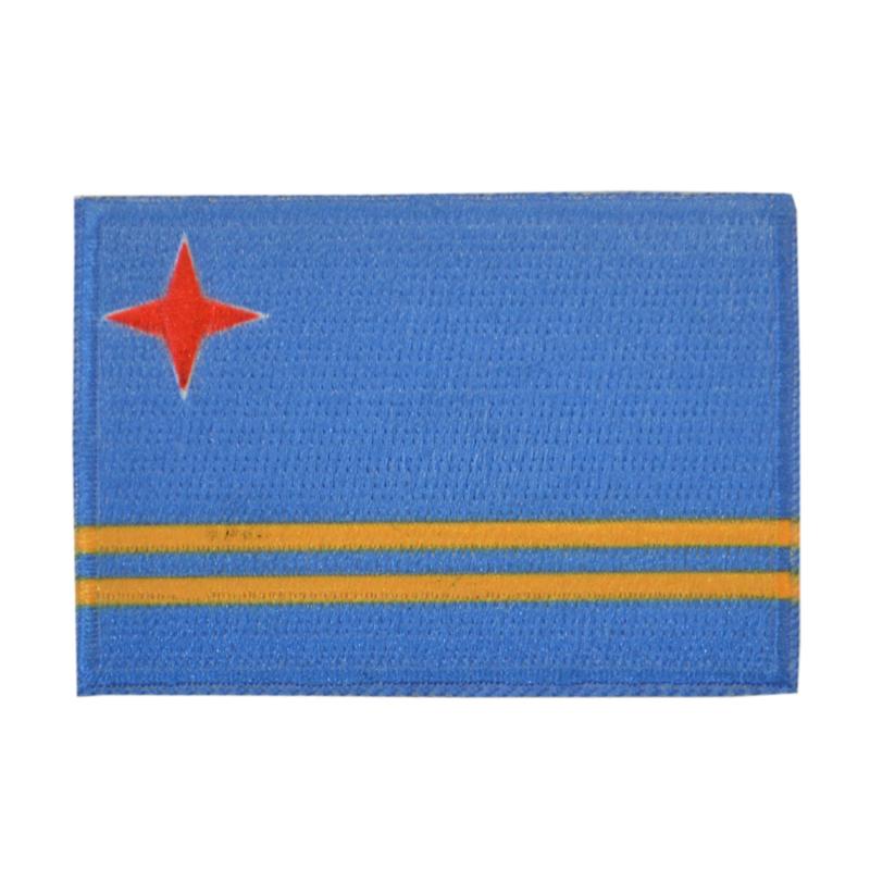Embleem vlag Aruba