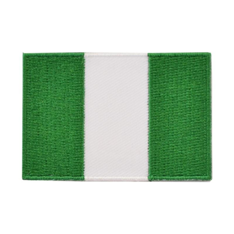 Embleem vlag Nigeria