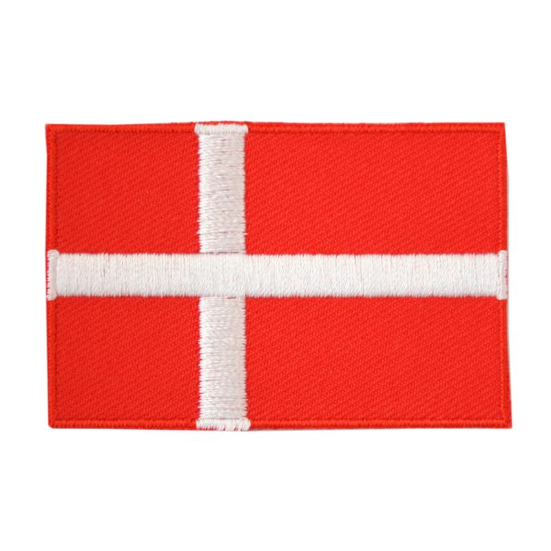 Embleem vlag Denemarken