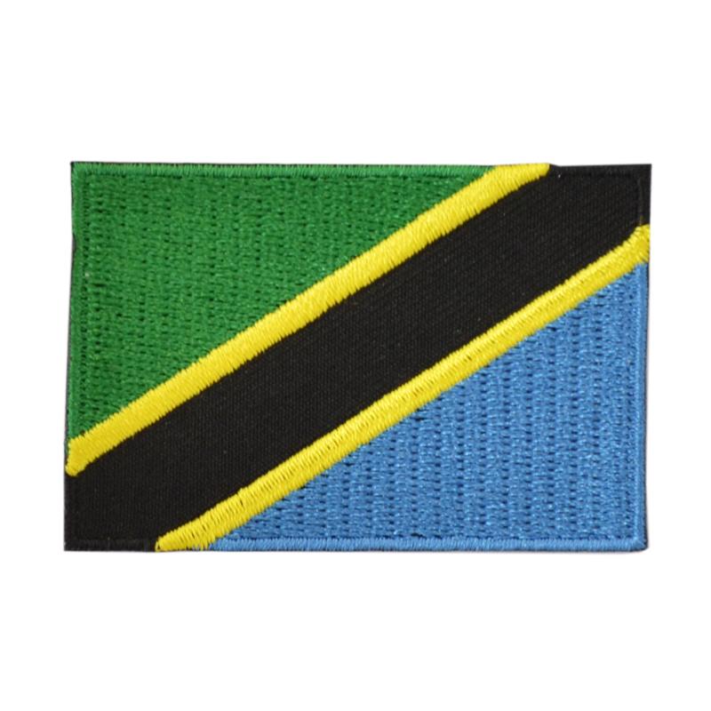 Embleem vlag Tanzania