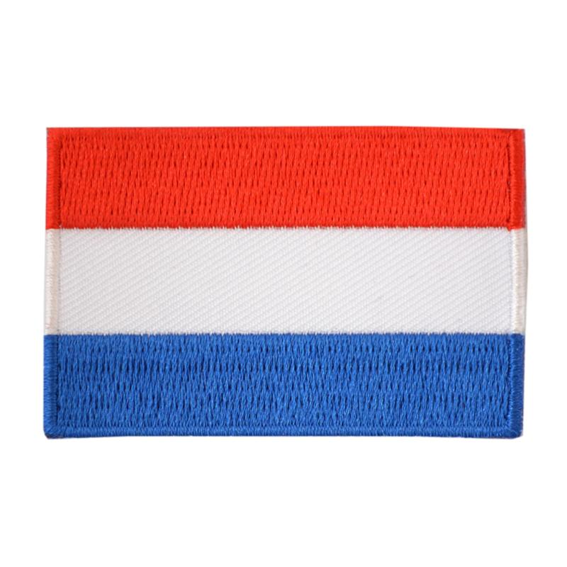 Embleem Nederlandse vlag groot (7,5 x 5 cm)