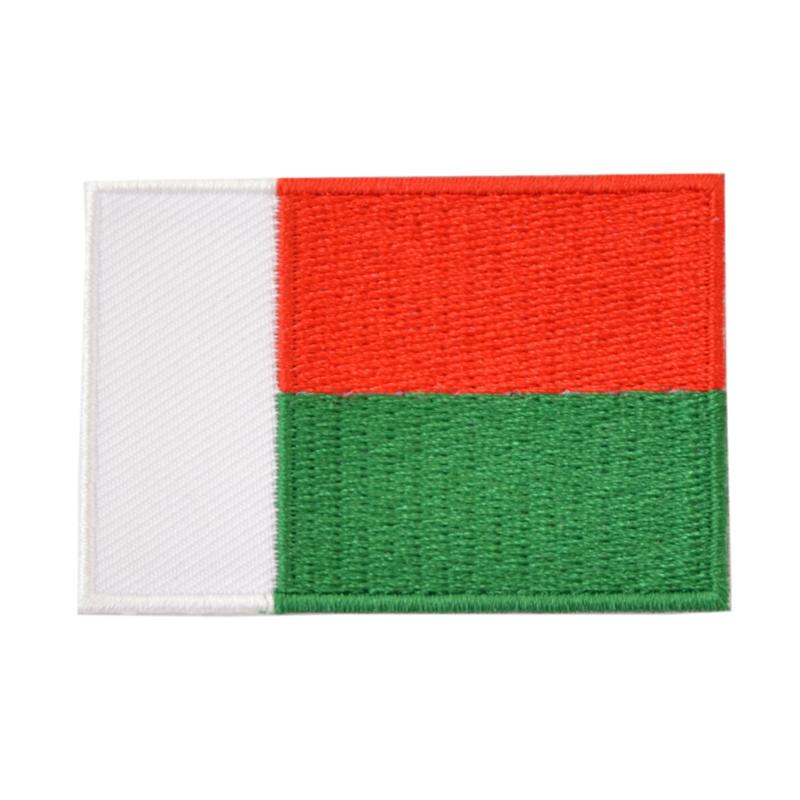 Embleem vlag Madagaskar