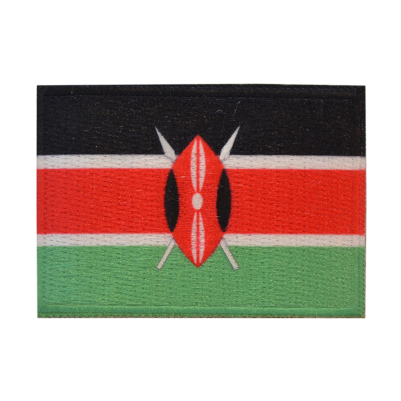 Embleem vlag Kenia