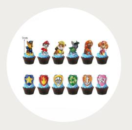 cupcake prikker Paw Patrol 1