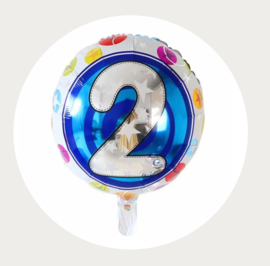 Folie ballon rond 2