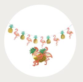 Flamingo - Ananas slinger