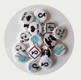 Buttons TikTok