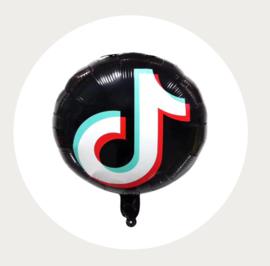 TikTok folie ballon rond