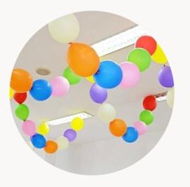 Staart ballonnen