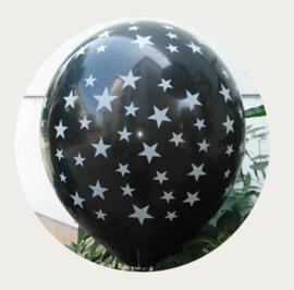 Zwarte ster ballonnen