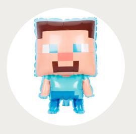 Folie ballon Minecraft Steve