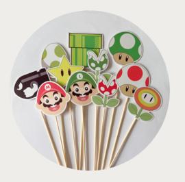 traktatie prikkers Super Mario 3