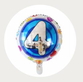 Folie ballon rond 4