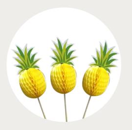 cupcake prikker Ananas