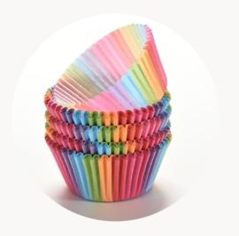 cupcake cup regenboog
