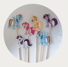 traktatie prikker My Little Pony