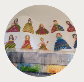 Diamond painting prinsessen stickerset