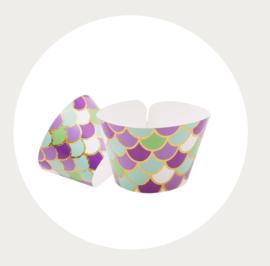 Zeemeermin wikkel (wrapper) schubben