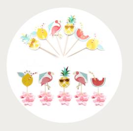 Flamingo zomer prikker