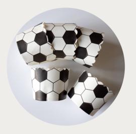 cupcake liner voetbal