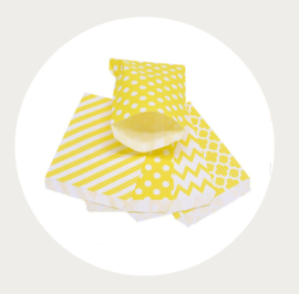 Kadozakjes geel