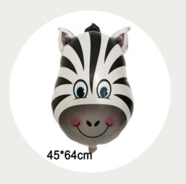 Folie ballon zebra