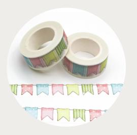 washi tape vlaggetjes 1
