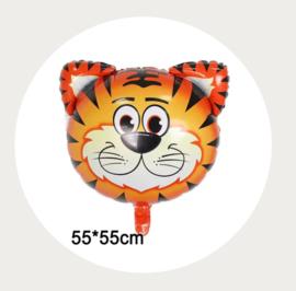 Folie ballon tijger