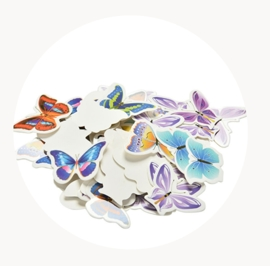 vlinders voor op cukcake